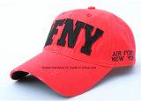 OEMの農産物はロゴによって刺繍された綿の昇進の野球帽をカスタマイズした