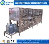 machine de remplissage de l'eau de bouteille du baril 18.9L