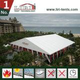 Grande tente extérieure blanche de mariage pour 1500 personnes, tente de mariage de 1500 personnes à vendre