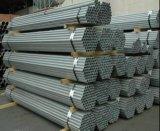 Tubo de acero del HDG de la fuente de China/tubo redondo de acero soldado (diámetro 25/32/48 milímetro)