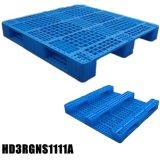 4-manier de Enige Onder ogen gezien 1100X1100mm Plastic Pallet van Ingang