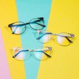 Blocchi per grafici rotondi degli occhiali del progettista con i vetri liberi dell'occhio dell'obiettivo per gli occhiali Oculos (97067) del telaio dell'ottica degli uomini delle donne