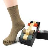 Männer Plain reine beiläufiges Kleid-/Büro-/Arbeiten/Geschäfts-Socken