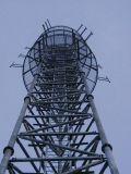 Гальванизированные Hot-DIP Средств-Развевают башня телекоммуникаций Q345 стальная (LT-17)