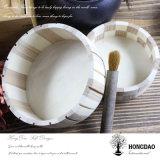 Hongdao kundenspezifischer hölzerner runder Schaukarton ohne Kappe Wholesale_L
