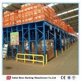Mehrschichtige Regale, mehrstöckiges Racking, Dachboden-Typ Zahnstangen hergestellt in China