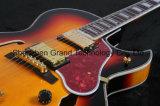 Tabac de guitare électrique de jazz avec de l'or Hardwarefree