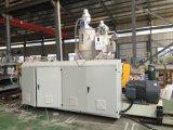 Линия штрангя-прессовани трубы из волнистого листового металла стены PVC пластмассы двойная
