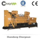 Générateur de gaz d'énergie électrique de biomasse du refroidissement par eau 1000kVA