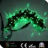luz feericamente ao ar livre da corda do diodo emissor de luz do partido da decoração da árvore de Natal 10m
