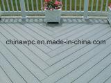 Decking do composto do Woodgrain de WPC