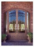 優雅なデザイン暗い銅の鉄の外部ドア