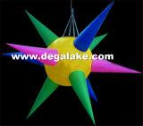 Luz inflável da estrela do diodo emissor de luz para a decoração