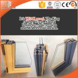 현대기도 하고 전통적인 아키텍쳐, 알루미늄 Clading 단단한 나무 여닫이 창 Windows를 위한 좋은 품질 Windows