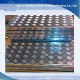반대로 미끄러짐 층계를 위한 알루미늄 관통되는 격판덮개