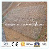 2017年の工場供給によって溶接されるGabionボックスか六角形の網Gabion
