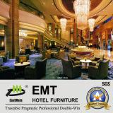 Nouvelle entrée d'hôtel de conception dinant le sofa réglé du café Table+ (EMT-R-06)