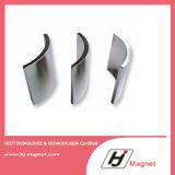 Des China-NdFeB Neodym-Dauermagnetlichtbogen Magnet-Hersteller-freies BeispielN50