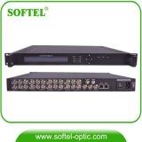CATV H. 264 8 canales HDMI al modulador del codificador de DVB-C