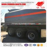 Poids total 40 tonnes de camion-citerne de remorque semi pour la charge d'essence