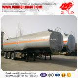 Gesamtgewicht 40 Tonnen Tanker-halb Schlussteil-für Benzin-Laden