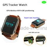 2g montre de traqueur du sureau GPS avec le contrôle de fréquence cardiaque (Y16)