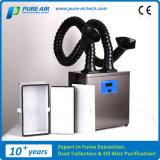 순수하 공기 여과액 납땜 증기 (ES-300TD-IQC)를 위한 납땜 증기 갈퀴