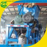 Basura sólida/desecho/desperdicios municipales que reciclan la fábrica de la desfibradora