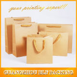 Sacs de papier promotionnels faits sur commande de cadeau d'achats