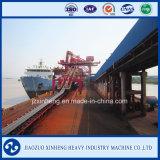 Машинное оборудование ленточного транспортера морского порта передвижное