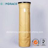 Цедильный мешок системы Nomex фильтрации контроля за обеспыливанием воздуха