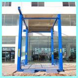 Elevador barato del coche del estacionamiento del coche de la elevación hidráulica residencial del elevador