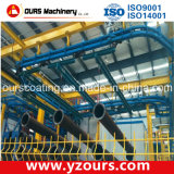 Pouvoir et ligne d'enduit libre de poudre de convoyeur pour le profil en aluminium