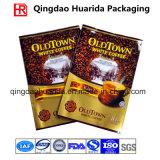 Fastfood- Reißverschluss-Beutel für das Kaffee-Verpacken