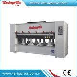 Máquina de imprensa de membrana de vácuo de folheado