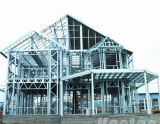 Il disegno professionale ha prefabbricato la costruzione della struttura d'acciaio/tettoia dell'acciaio