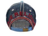 Populäre gewaschene Baseballmütze mit Nizza Firmenzeichen Gjwd1716