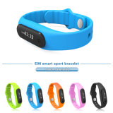 Bluetooth intelligent V4.0 Waterproof With Activity Tracker E6 de Bracelet Sports