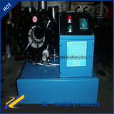 고압 호스 주름을 잡는 기계