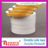 El doble adhesivo fuerte de la venta caliente echó a un lado cinta