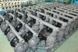 Pressluftbetätigte Plastikmembranpumpe
