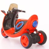 Motocicleta elétrica de roda vermelha de 3 rodas para atacado de bebê