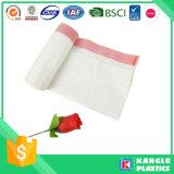 熱い販売のプラスチック使い捨て可能なごみ袋のドローストリング