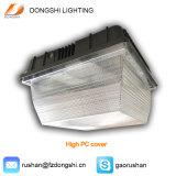 Luz al aire libre del pabellón de la gasolinera de la cubierta LED de la fundición de aluminio