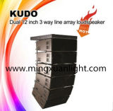 Kudo se dobla '' sistema audio del PA del profesional de tres vías 12