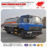 Caminhão de petroleiro do petróleo da grande capacidade com o táxi de 3 pessoas
