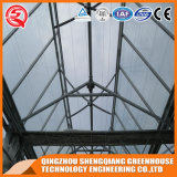 알루미늄 단면도 강철 구조물 유리 온실