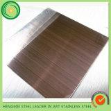 316 strato Bronze dell'acciaio inossidabile delle 304 linee sottili con il prezzo poco costoso