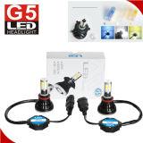 G5 4 viruta lateral 4300k H4 amarillo H7 H11 9005 de la MAZORCA 80W 8000lm linterna de 9004 MAZORCAS LED