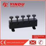 3/8 '' de válvula de distribuição do petróleo 3ways para as ferramentas hidráulicas (HV-3)